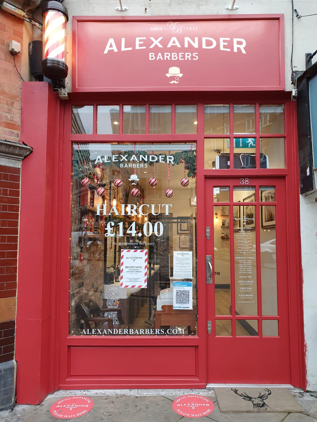 #alexanderbers #barbers #londonbarber #mensfashion #menshealth #barber #shoplocal